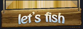 Let's Fish logo