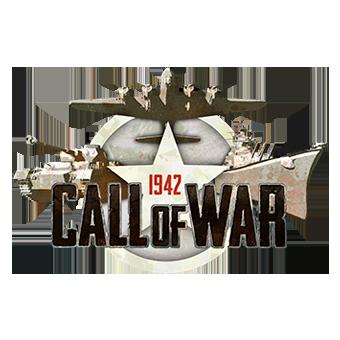 Call of War 1942 logo