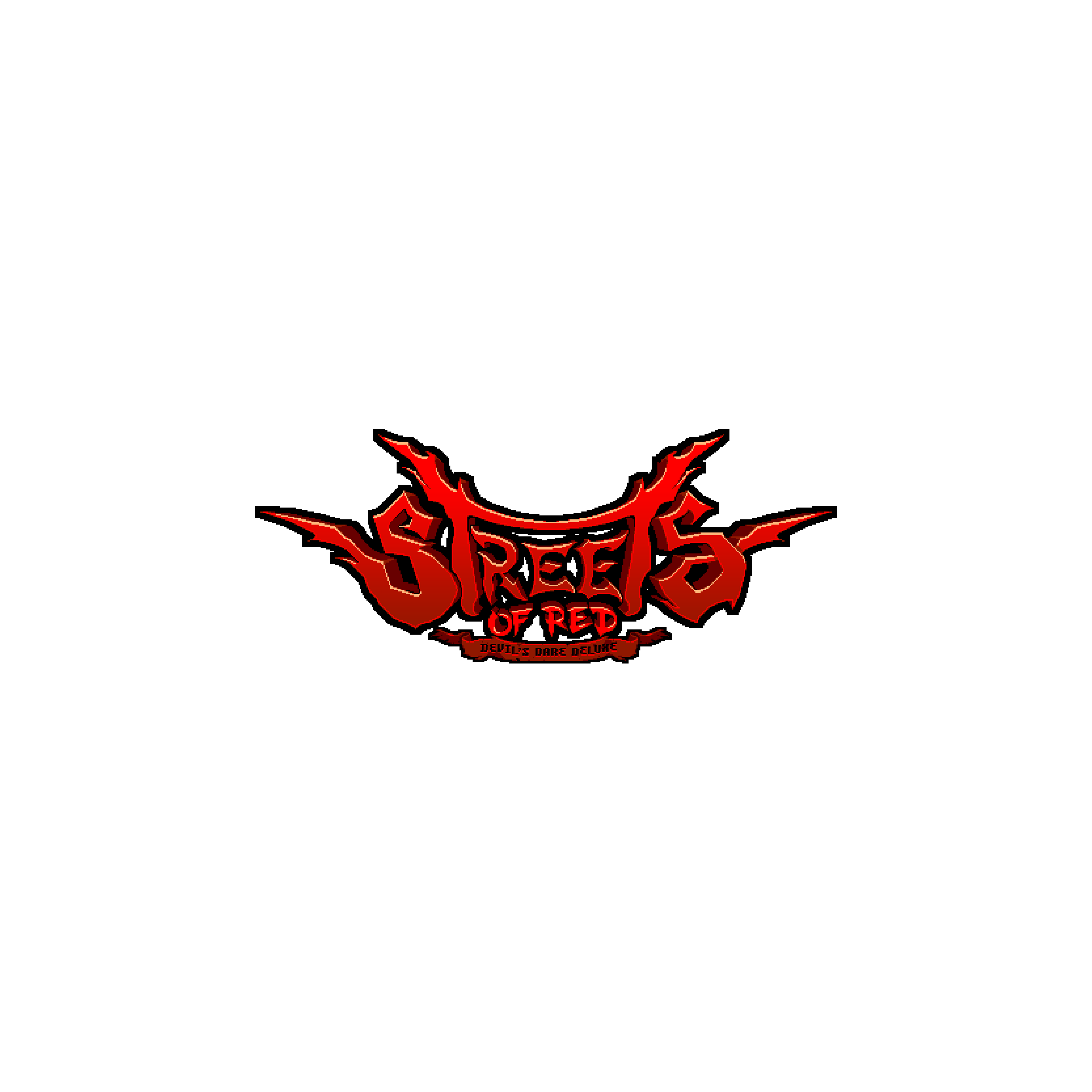 Streets of Red - Devil's Dare Deluxe logo