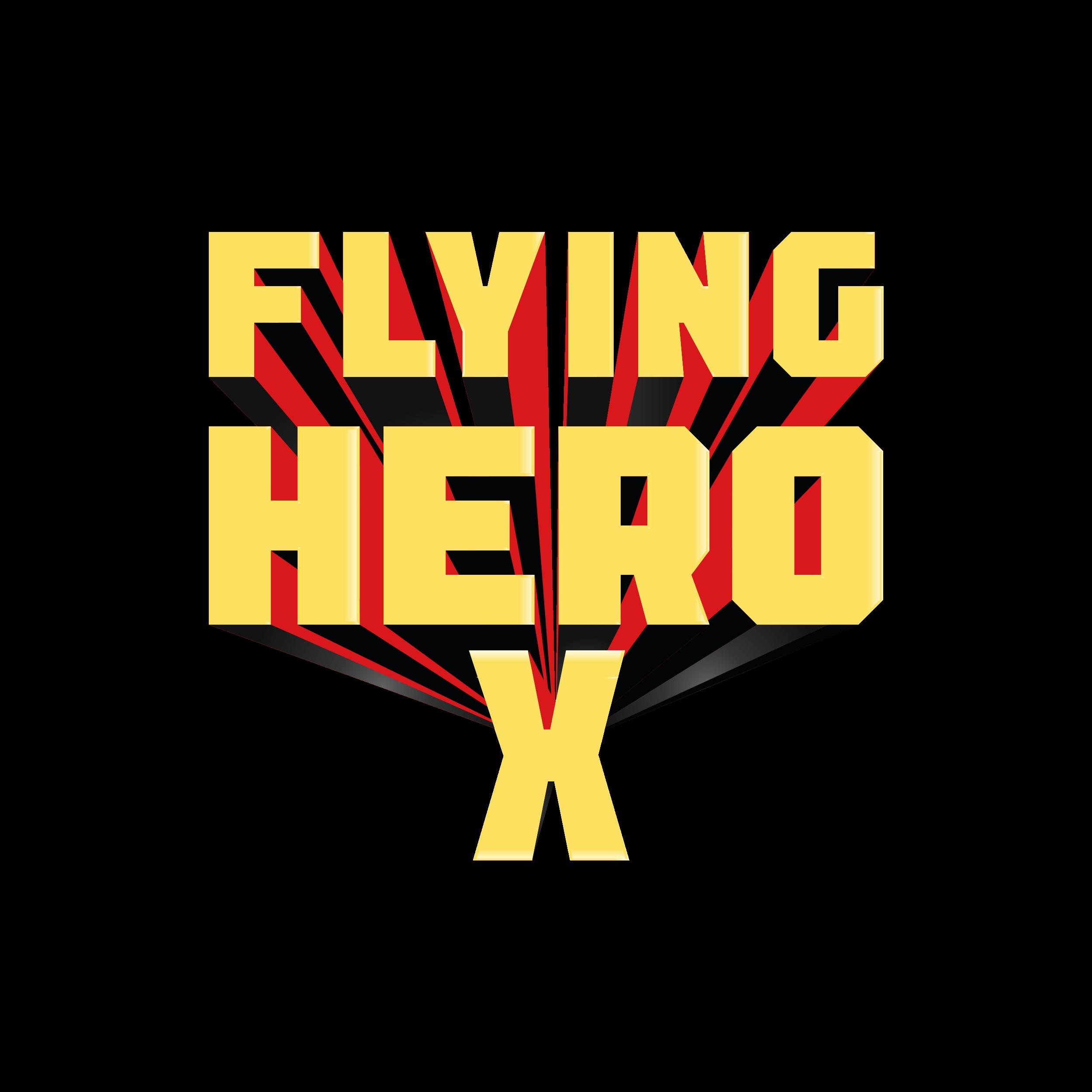 Flying Hero X logo
