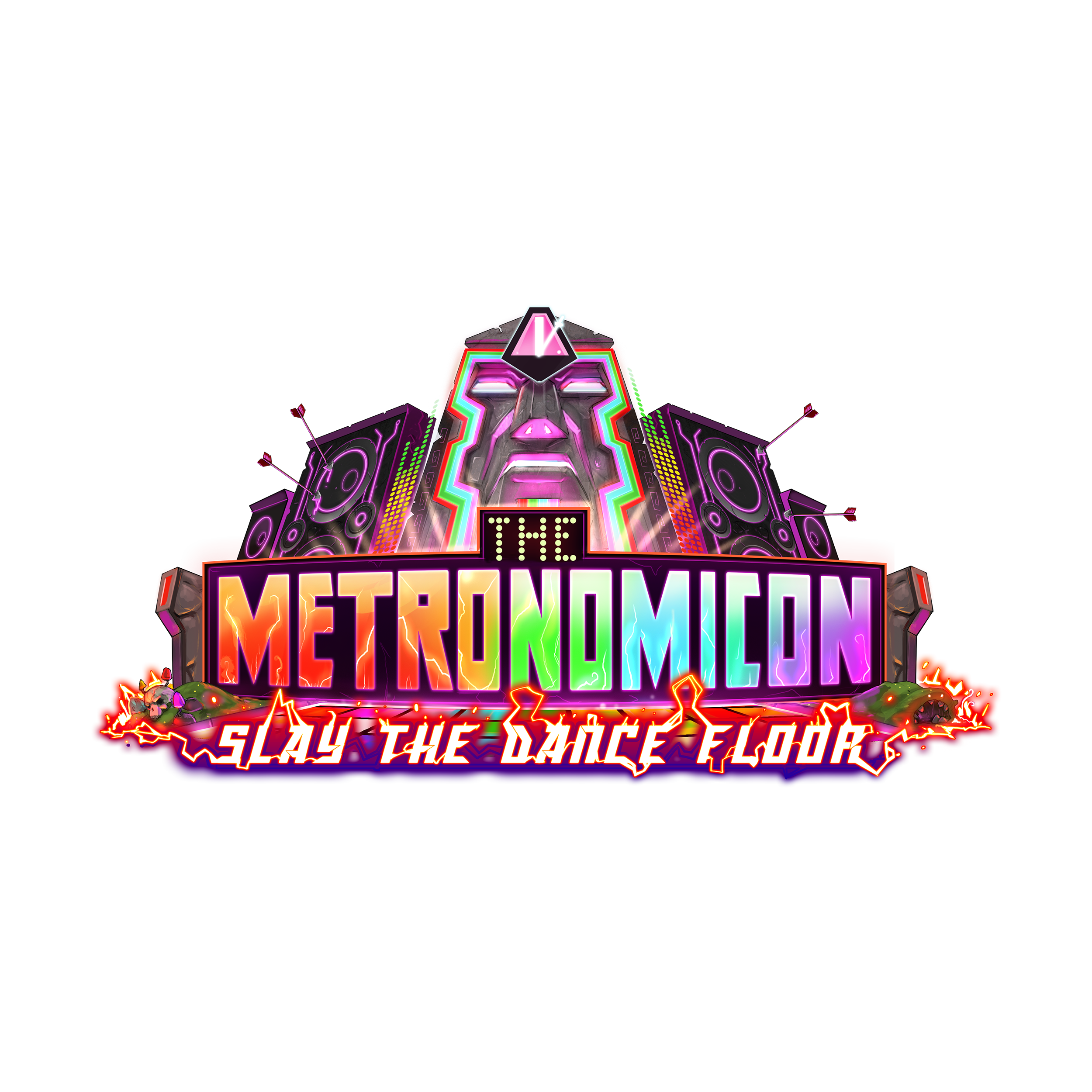 The Metronomicon - Slay The Dance Floor logo