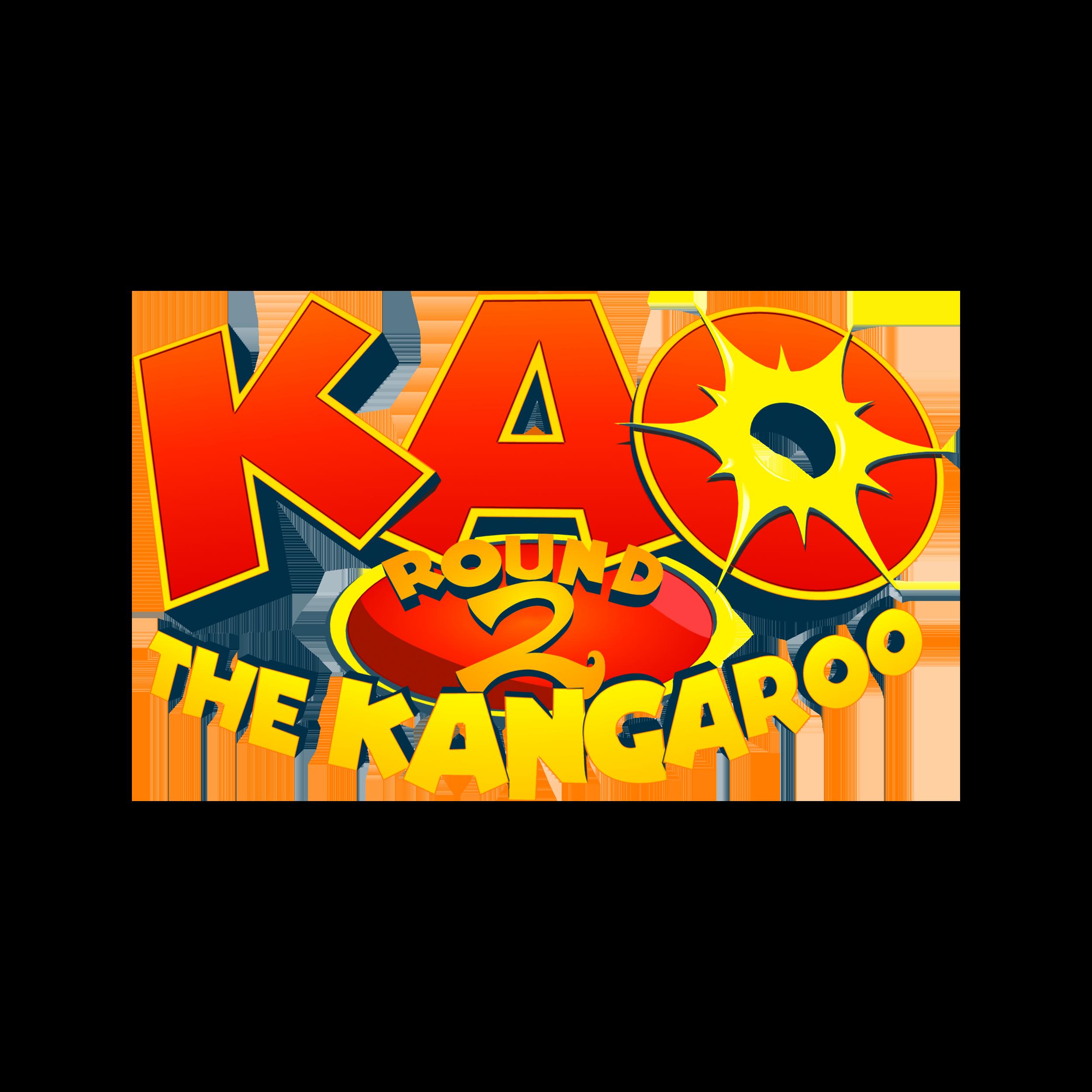 Kao the Kangaroo: Round 2 logo