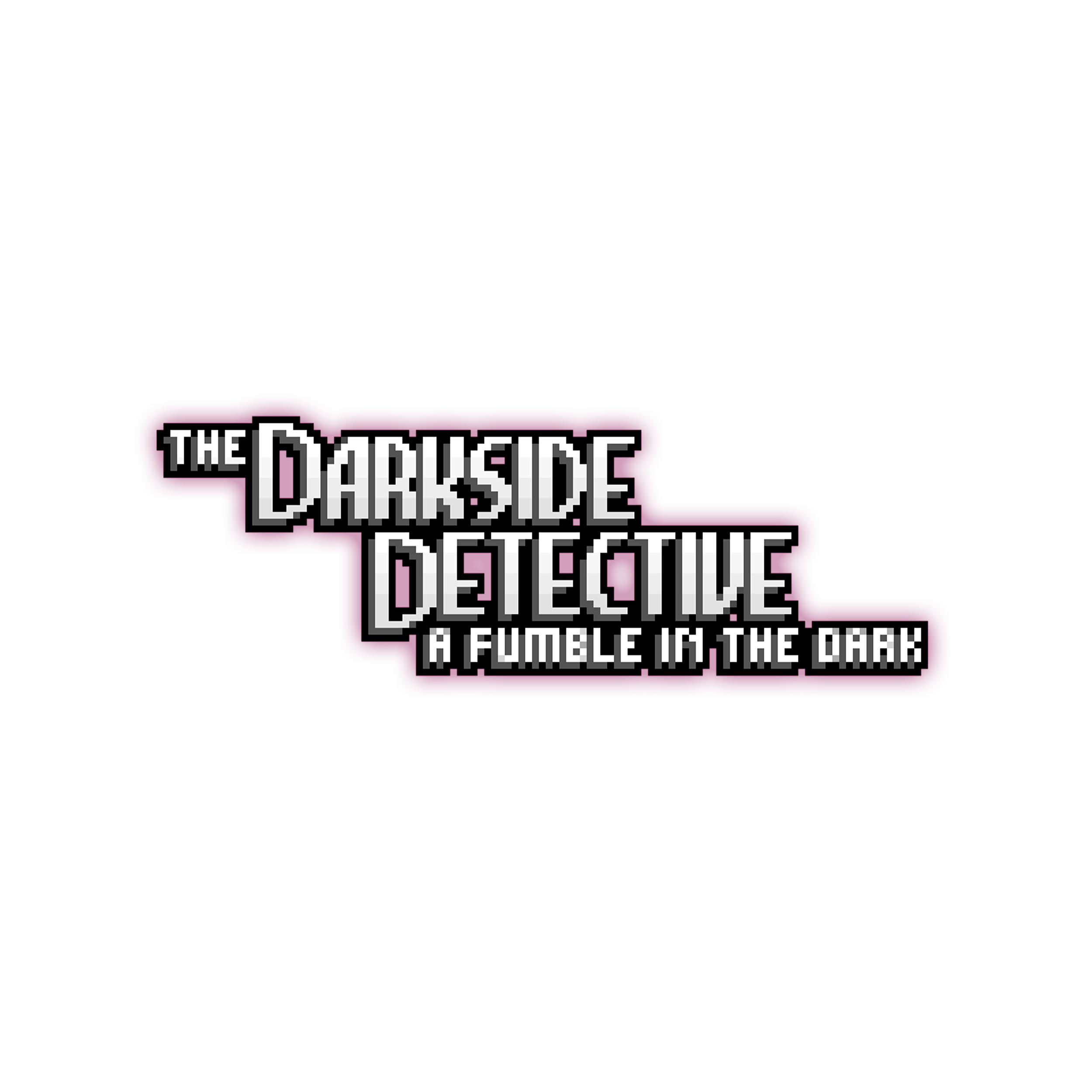 The Darkside Detective: A Fumble in the Dark logo