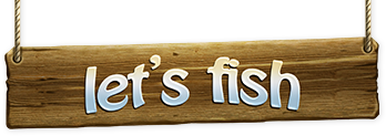 Let's Fish logo